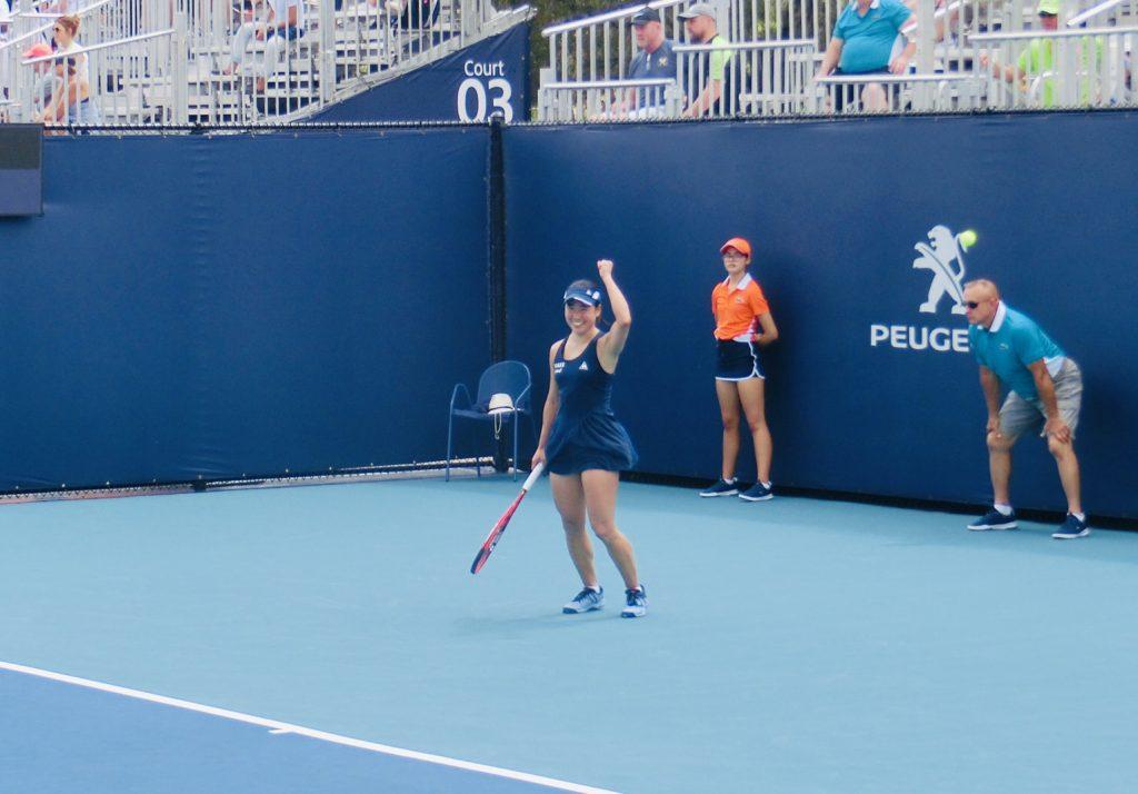 WTAマイアミオープンにて予選突破し、1回戦へ進出!