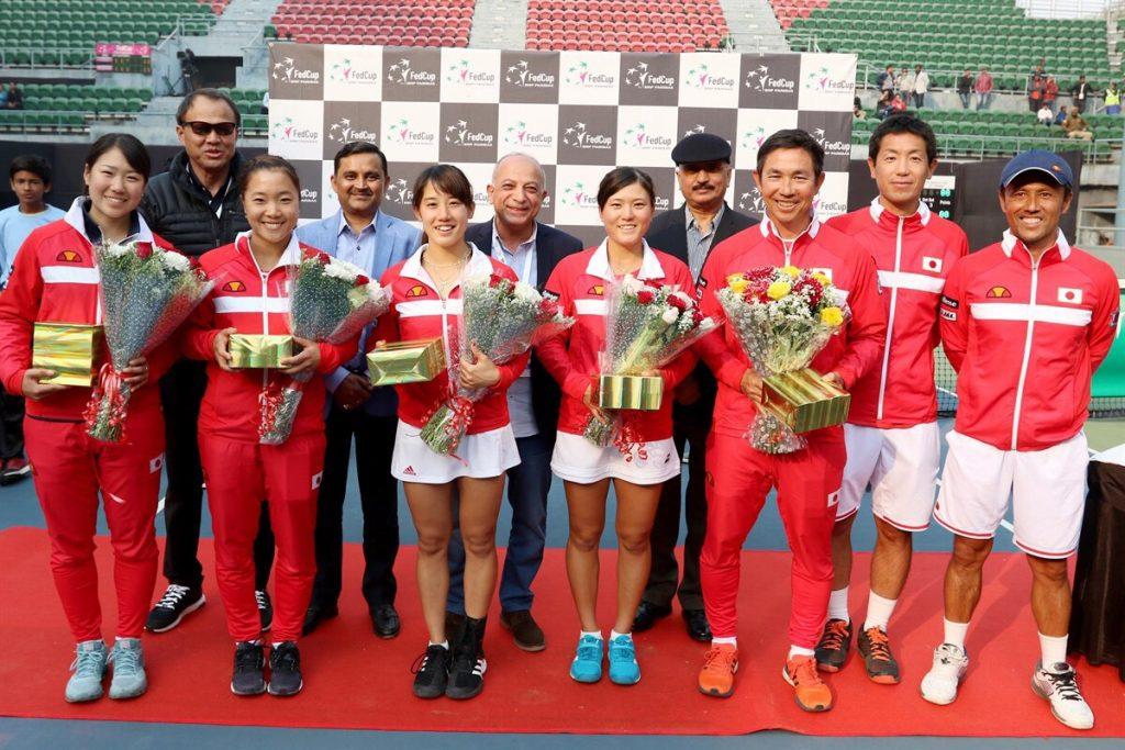 フェドカップ(フェド杯)アジア・オセアニアグループ1部に日本代表として出場。日本はオセアニアグループで優勝を果たしました。