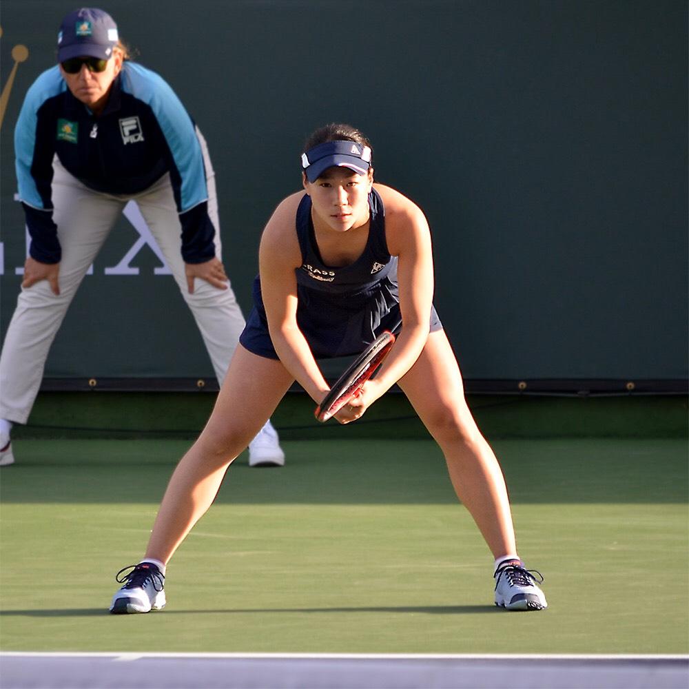 BNPパリバオープン・女子シングルスにて予選突破、1回戦へ進出!