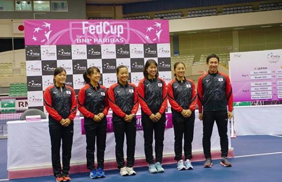 女子国別対抗戦フェド杯ワールドグループ2部1回戦の日本代表に日比野菜緒選手が選ばれました。