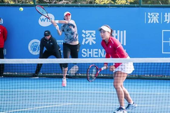 2019年シーズン開幕戦のひとつとなる「深圳オープン」(WTAインターナショナル/中国・深圳)の女子ダブルスにて準々決勝へ。