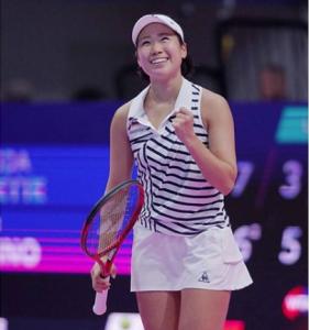 タシケントオープン(WTAインターナショナル/ウズベキスタン・タシケント)に出場、シングルスで2回戦、ダブルスで準決勝へ!