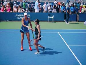 全米オープン(アメリカ・ニューヨーク)にて女子シングルスで2回戦、女子ダブルスで3回戦に進出。