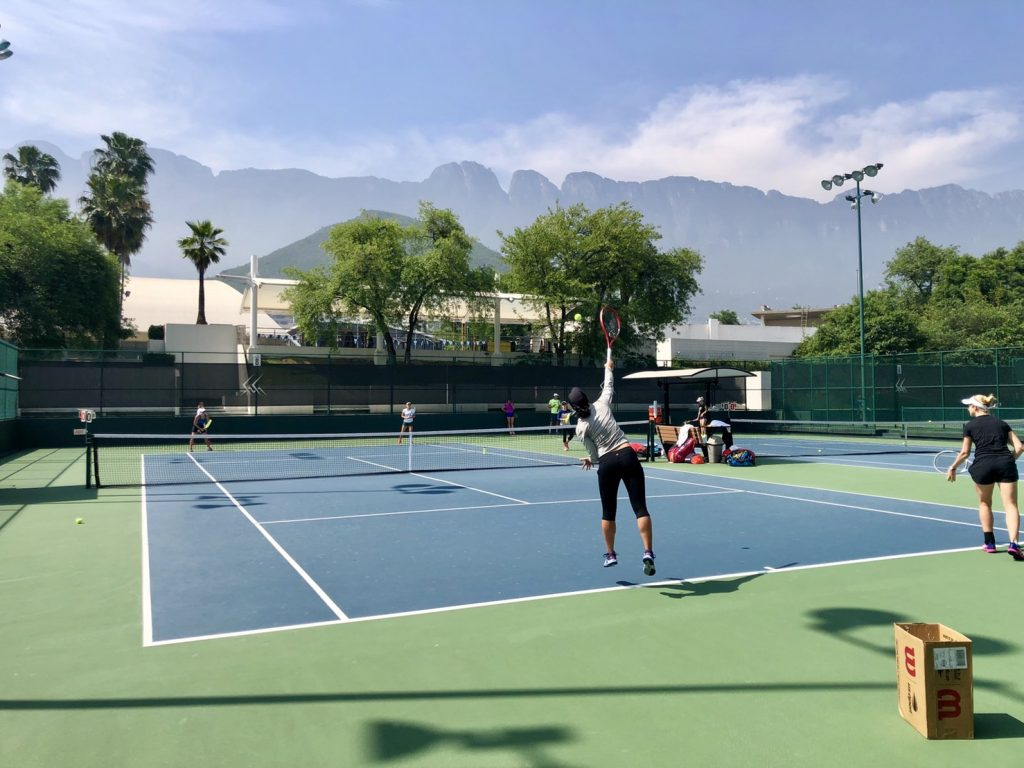 WTAモンテレイ・オープンにて初戦突破、2回戦へ進出!