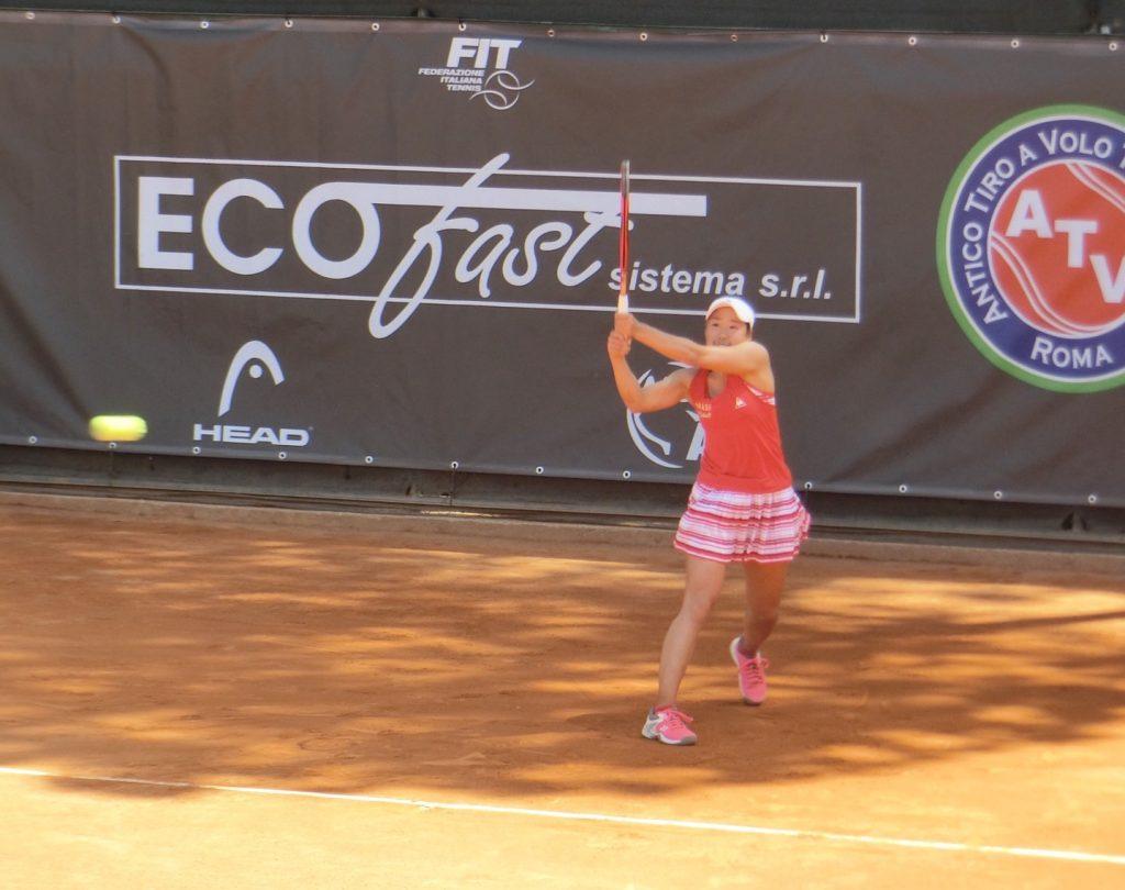ITFアンティボ・チーロ・ア・ボロ・トーナメントで女子シングルス準々決勝に進出しました!