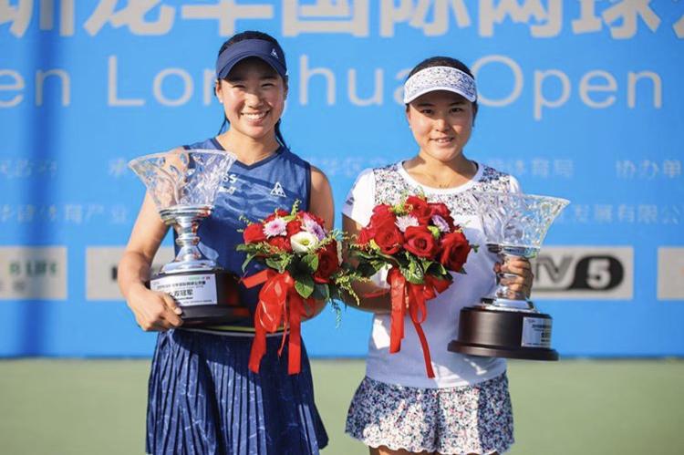 ITFシンセン龍華オープン女子ダブルスにて日比野菜緒選手・二宮真琴選手ペアが優勝いたしました!