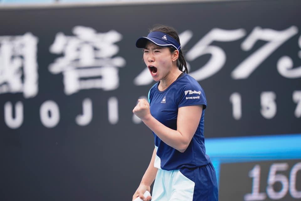 全豪オープン女子シングル・日比野選手初となる2回戦進出決定!