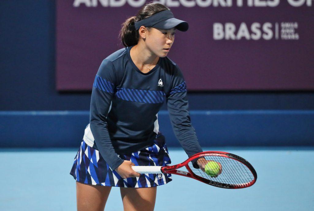WTAツアー「ストラスブール国際」にて女子シングルス1回戦を突破!