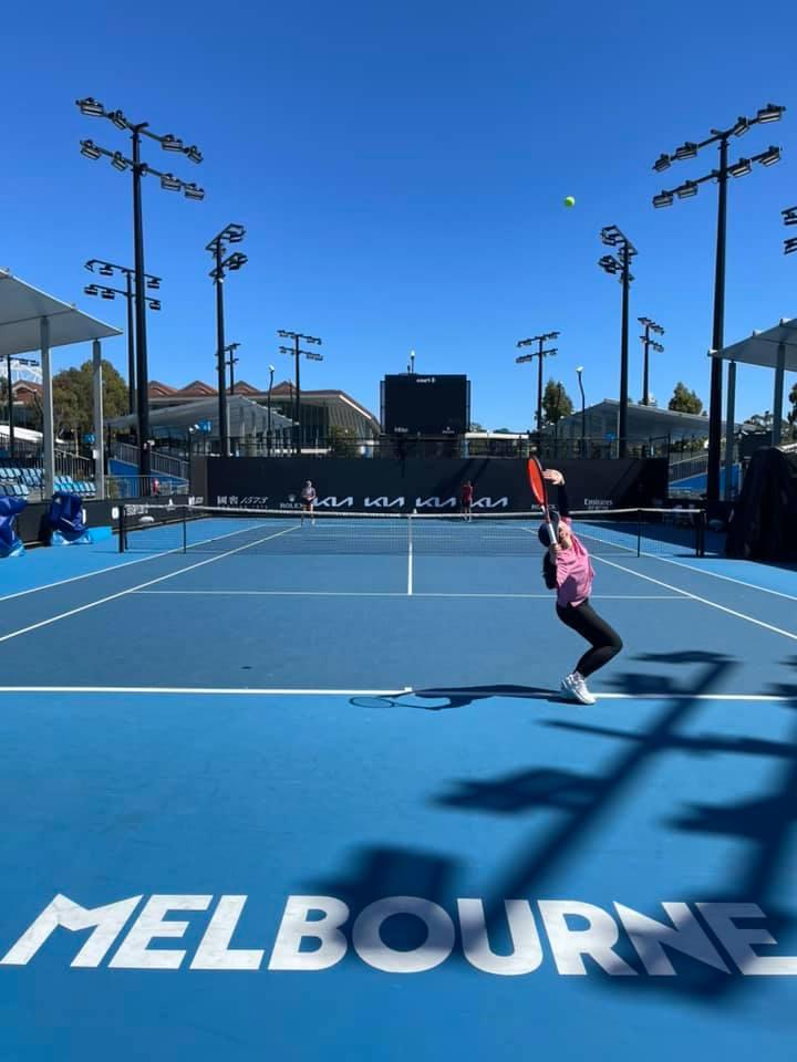 テニス全豪オープン・女子シングルス初戦勝利!2年連続2度目の初戦突破を果たしました。