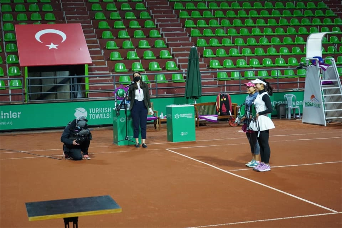 BNPパリバ・テニス選手権イスタンブール女子ダブルスで準優勝に輝きました!