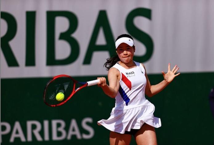 テニス全仏オープン・女子シングルス初戦勝利しました!